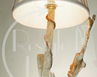 Rain Forest styled lamp