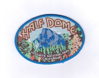 Vintage Half Dome Yosemite National Park California Patch