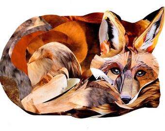 fox print - giclee