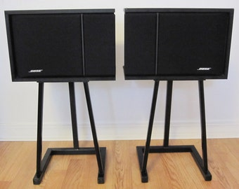 Vintage Bose 201 Series III Stereo Direct Reflecting Speakers
