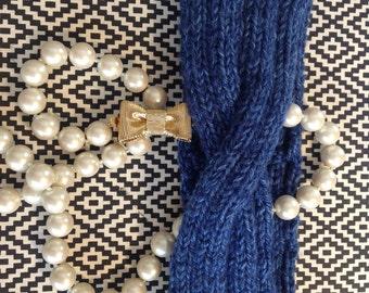 "Handmade Knitted Headband  ""The  Alexandra"" 0002"
