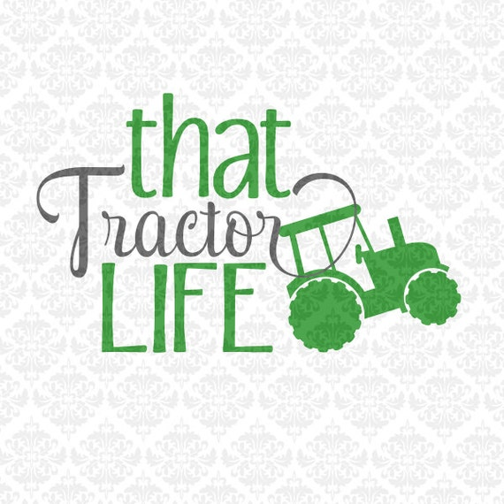 Farmer Farm Tractor Girl Boy Driver SVG DXF STUDiO Ai Eps PNG scalable Vector Instant Download Commercial Use Cricut Silhouette Cutting File