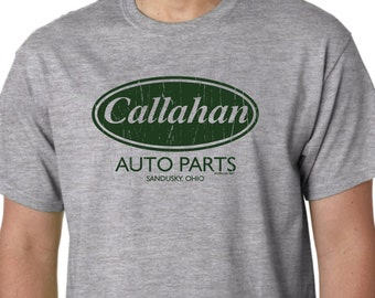 Callahan Auto Parts Funny T Shirt Tommy Boy Movie Humor Geek FREE SHIPPING Custom  5 COLORS