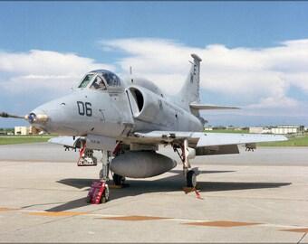 24x36 Poster . A-4M Skyhawk A-4 Attack Squadron Vma-214 Blacksheep