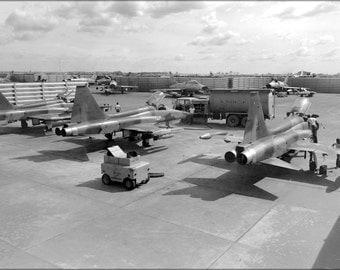 24x36 Poster . F-5C Freedom Fighter F-5 Bien Hoa Air Base, S. Vietnam, 1966