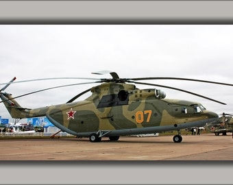 24x36 Poster . Mil Mi-26 Russian Soviet Helicopter P2