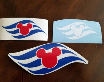 Disney Cruise Line Inspired Vinyl Decals for Car and many other uses