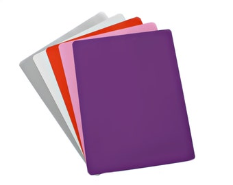 """Dry Erase Magnetic Sheet - 12"""" X 18"""" - 5 Sheets - Multiple Colors"""