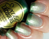 WICKED  Blue/Green/Gold Multi-Chrome Thermal Color Changing Nail Polish - Drama Queen Collection