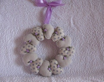 A lovely ring of hearts.