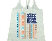 American Flag Aztec T-Back Tank was 24.95 NOW 14.97