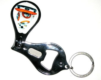 Star Wars BB8 Beer Bottle Opener Keychain Nail clippers