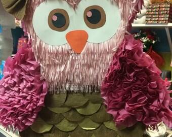 Custom owl piñata