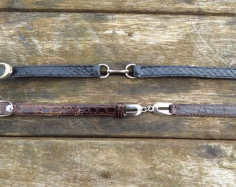 Lot Vintage Belts Leather (xs)