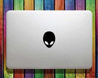 """Alien Macbook Sticker Decal for 11"""" 12"""" 13"""" 15"""" - laptop stickers, macbook stickers, macbook decals, macbook sticker, macbook pro stickers"""