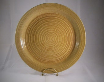 Large Yellow Plate