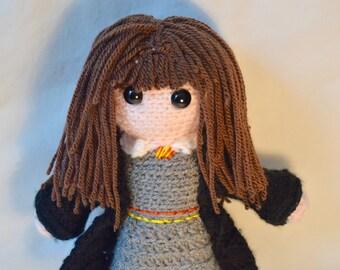 Hermione Crochet Doll