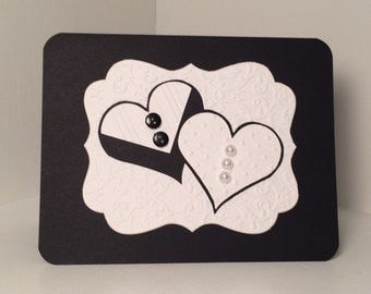 handmade greeting card- wedding, engagement or bridal shower
