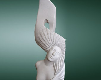 Sculpture woman - object of art