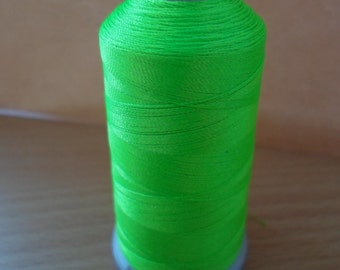 Madeira machine embroidery thread lime 1950