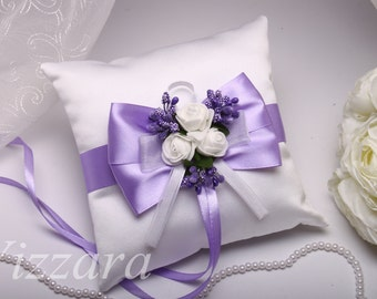 Ring Bearer Pillows Lilac - Wedding pillows Levander  Wedding pillows lilac Ring pillow Levander Bearer Pillow lilac wedding Pillow Levander