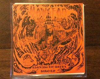Hawkwinds Bass Player Alan Davey E.P. The Elf (Ltd Edition)
