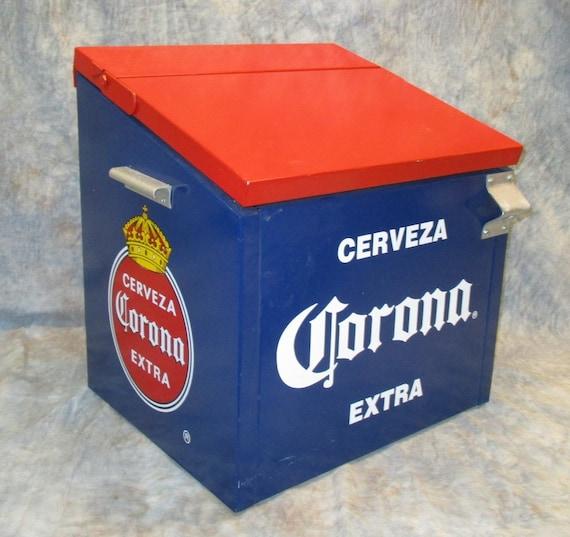 Cerveza Corona Extra Metal Drink Cooler Beer Bottle Opener Bar