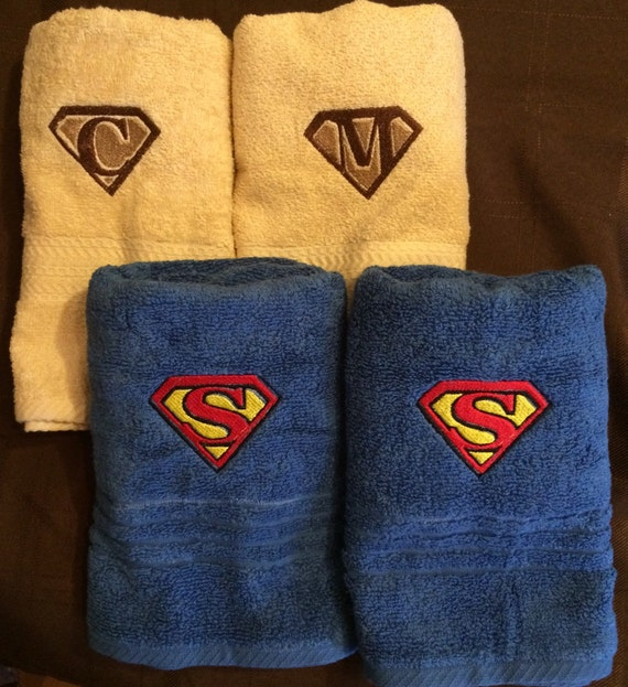 Personalized Kids/Adult Bath Hand Or Wash Cloth Towels Sets