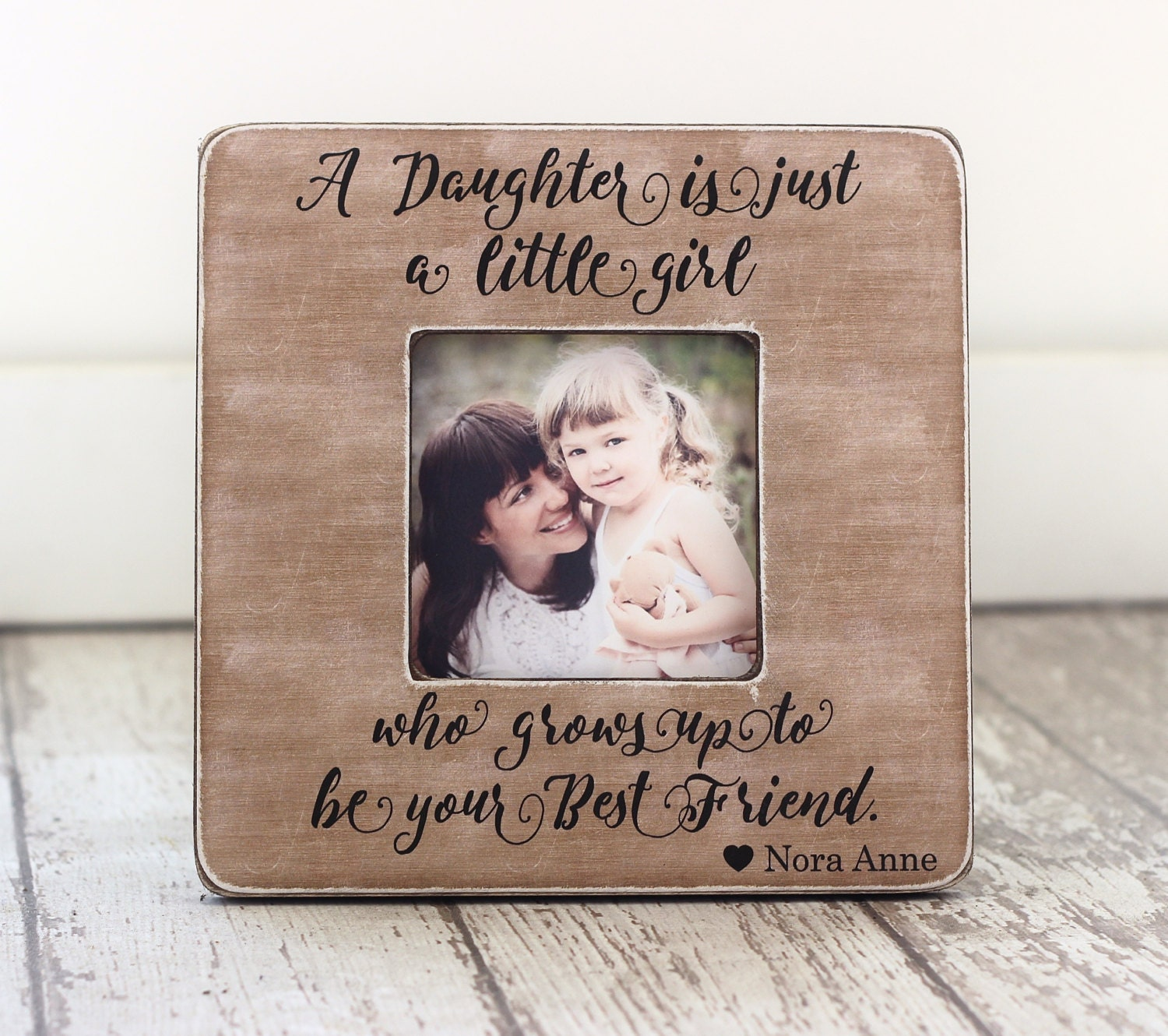 Mother Daughter Mom GIFT Wife Gift Personalized Picture Frame