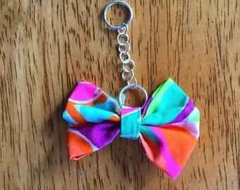 Lulu Inspired Bow Key Chain