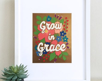 Grow In Grace Papercut