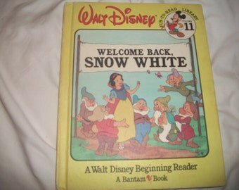 Walt Disney Fun-To-Read Library Volume 11 Welcome Back Snow White