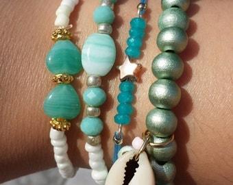 Beach bracelet set