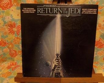 Star Wars Return Of The Jedi Soundtrack Record LP Album