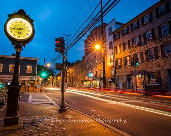 Main Street in Ellicott City - Maryland - USA - Landscape - Fine Art Print