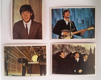 Gift For Her Beatles Cards Vintage Beatles Music Memorabilia Beatles Collectible Birthday Gift John Lennon Beatles Gift Paul McCartney