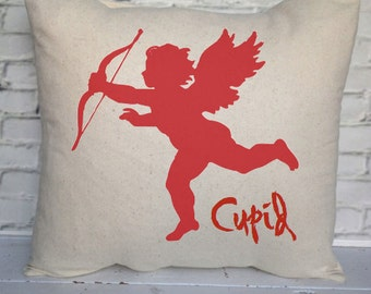 VALENTINE CUPID PILLOW,Love, Insert Included