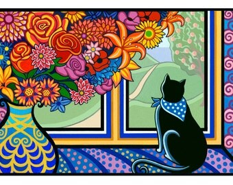 A Cat For All Seasons cards (Set of 4)