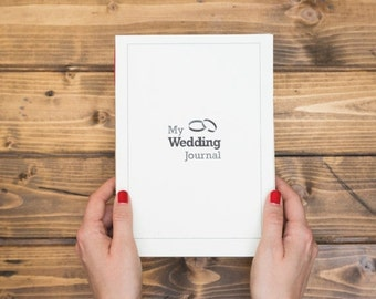 SALE My Wedding Journal