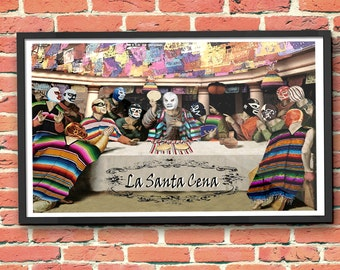 "Lucha Libre ""La Santa Cena"" (The Last Supper)"
