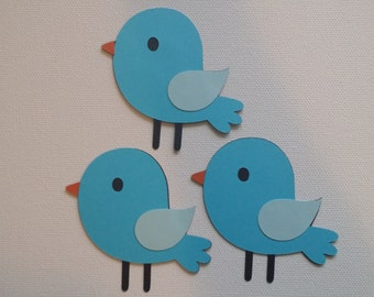 Bird Die Cut Set of 3