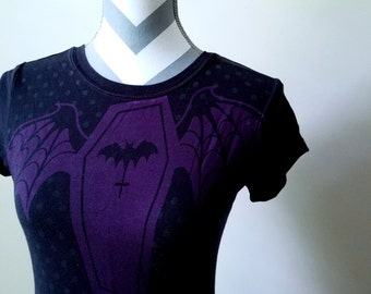 Bat Winged Coffin Top