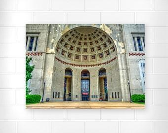 Ohio State Wall Art ohio state wall art | etsy