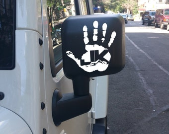 JK Jeep Wave Decal