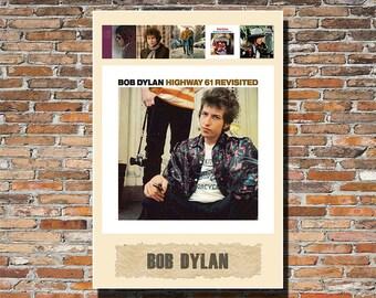 Bob Dylan 13x19 Album Art Print, Bob Dylan Print, Bob Dylan, Bob Dylan Wall Art, Bob Dylan Poster, Instagram, Bob Dylan Gift, Bob Dylan Fan