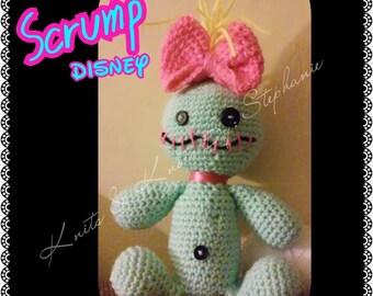 crochet Scrump disney (made to order)