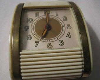Vintage Westclox Alarm Clock Travel Clock USA