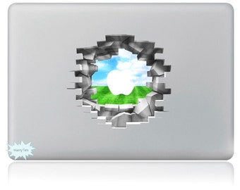 New 3D sticker Macbook decal macbook stickers apple decal mac decal new 17