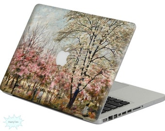 New Oil Painting decal mac stickers Macbook decal macbook stickers apple decal mac decal stickers 06