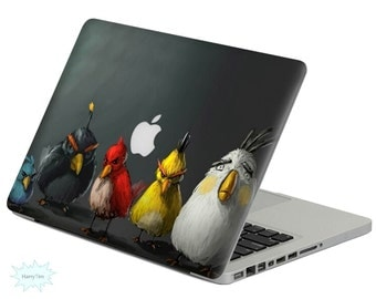New birds decal mac stickers Macbook decal macbook stickers apple decal mac decal stickers